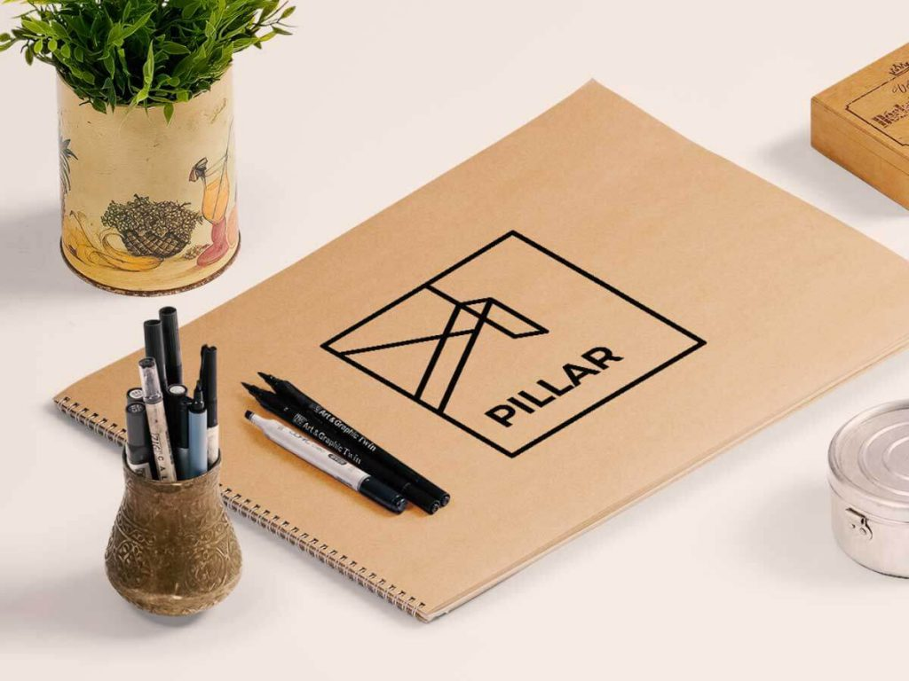 Notepad with pen holder | Mobile Marketing, LLC