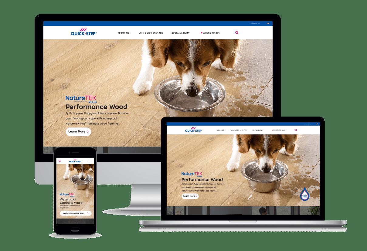 Quick step on desktop | Mobile Marketing, LLC